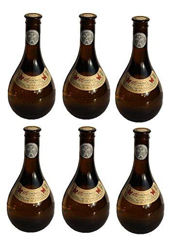 6x Retsina Kechribari geharzter Weißwein 11,5{92683ef3710191bbb1e421971c62a18c43386541c9c5754865a52015fccab56d} 500 ml Flaschen - + 2 Probier Sachets Olivenöl aus Kreta a 10 ml - aus Griechenland griechischer Weiß Wein