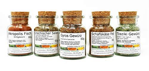 Griechische Gewürze Set im Glas Gewürzkontor München